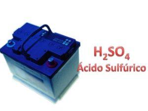 Usos del ácido sulfúrico