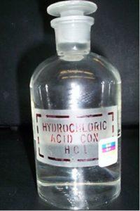 Propiedades del ácido clorhídrico