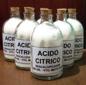 Donde adquirir el ácido cítrico