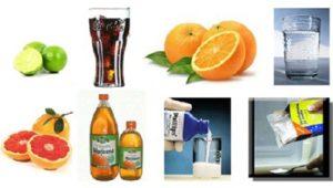 Usos de ácidos y bases
