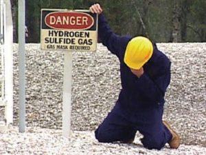 ácido sulfhídrico y el cuerpo humano. toxicidad