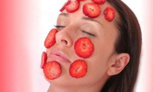 Alimentos que contienen ácido salicílico. fresas
