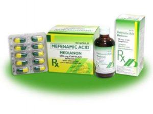 Cómo actúa el ácido mefenámico