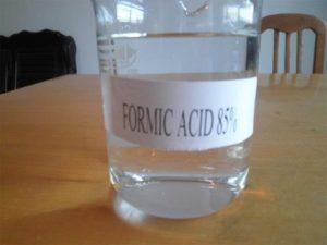 Propiedades del ácido fórmico.