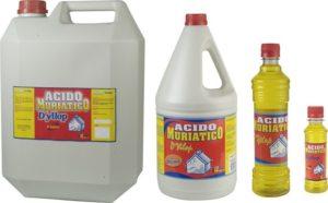propiedades del ácido muriático