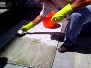 usos del ácido muriático. obras de construcción