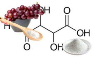 Resultado de imagen para acido tartarico