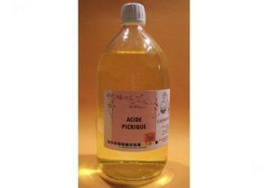 propiedades del ácido pícrico