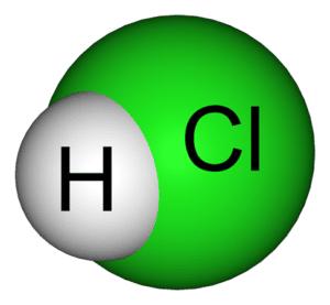 ácidos fuertes más comunes CLORHIDRICO