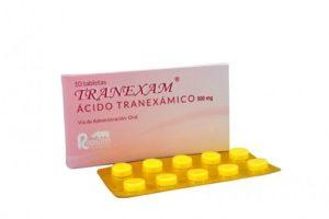 Cómo actúa el ácido tranexámico