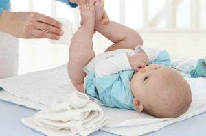Usos del ácido hipocloroso. Irritacion piel bebes
