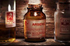 propiedades del ácido arsénico