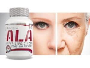 dades y beneficios del ácido alfa lipoico combatir envejecimiento