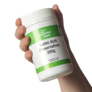 ácido sórbico aplicaciones