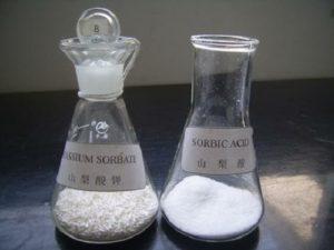 Propiedades del ácido sórbico